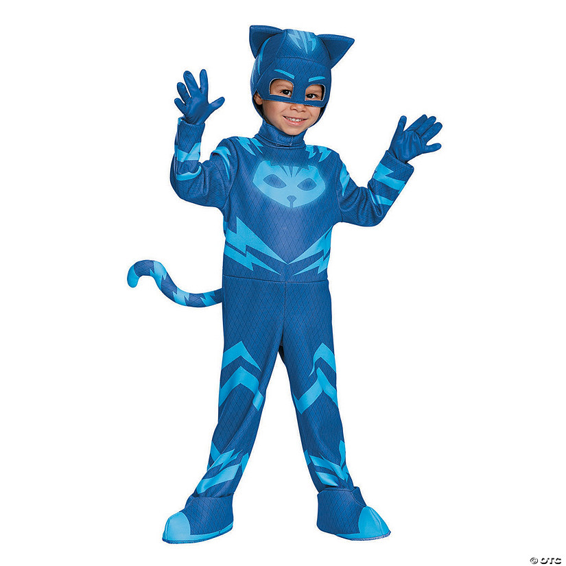 Boy's Deluxe PJ Masks™ Catboy Costume - Small Audio Thumbnail