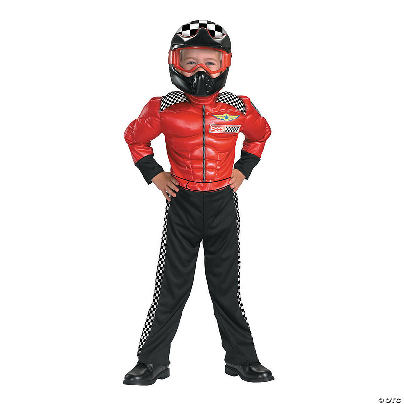 Boy's Turbo Racer Costume