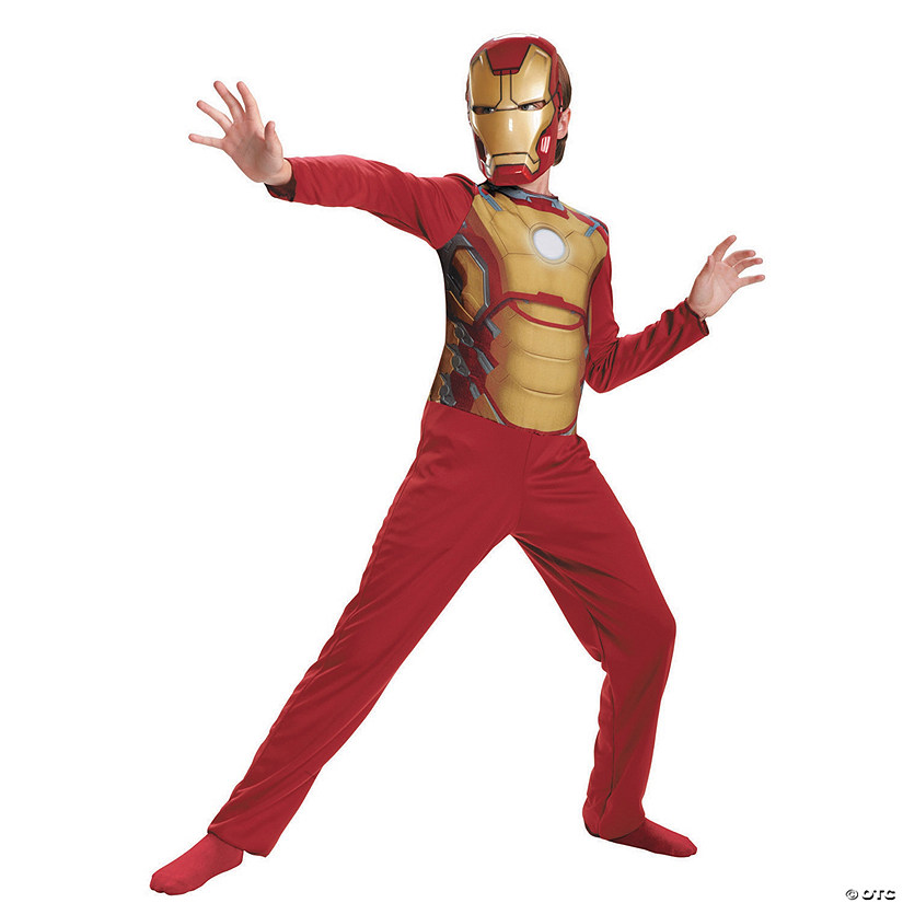 97a4a5d70cd2 Boy's Basic Mark 42 Iron Man Costume - Extra Small | Oriental Trading