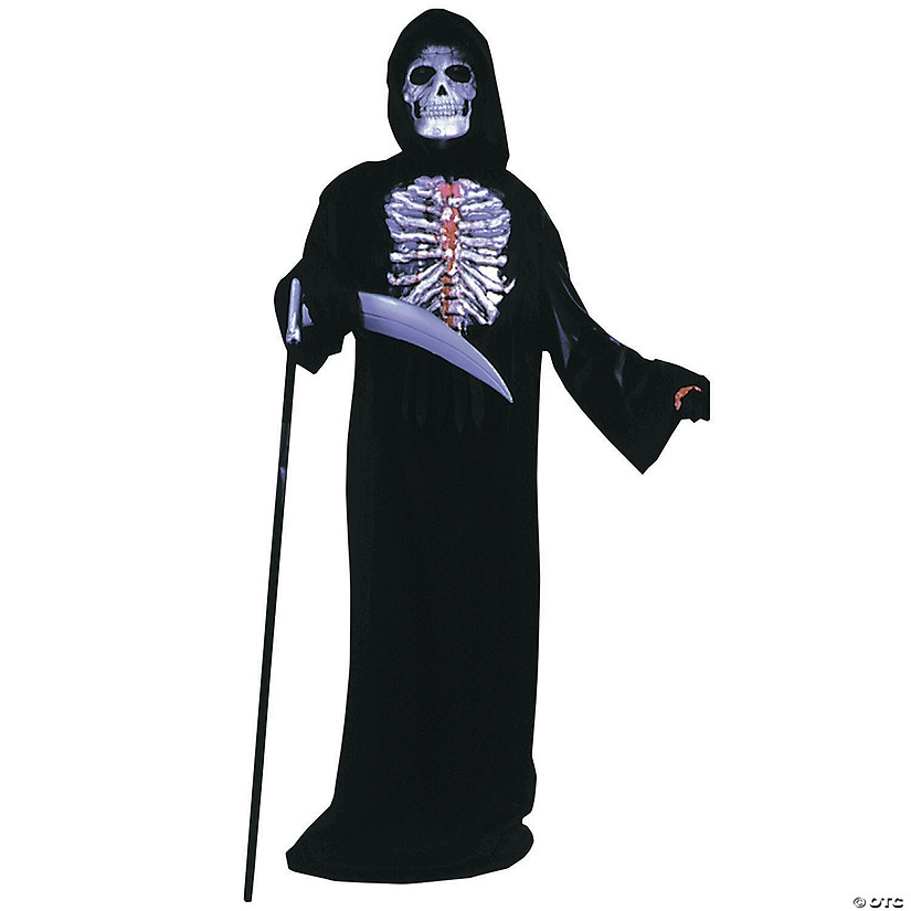 Boy's Bleeding Skelebones Costume