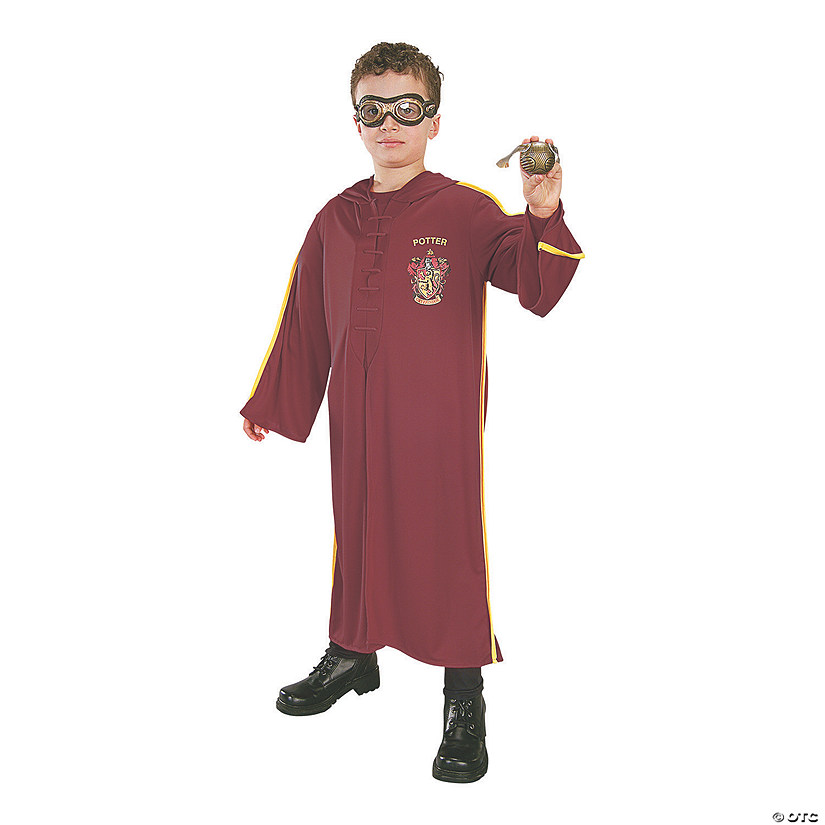 Boy's Blister Kit Harry Potter Quidditch Costume