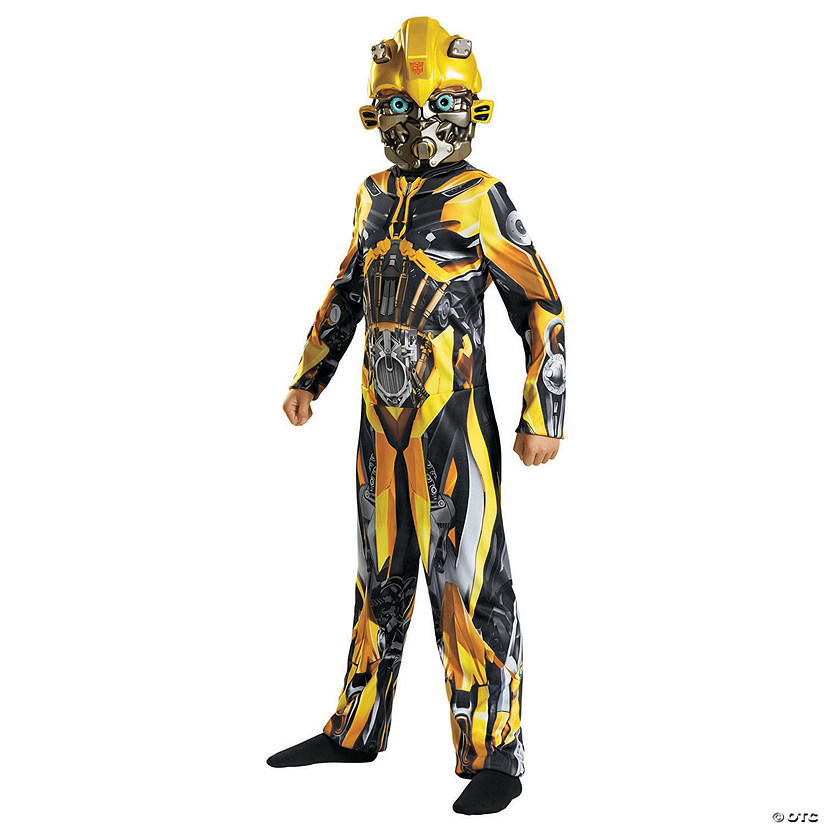 Boy's Classic Bumblebee Costume - Medium Audio Thumbnail