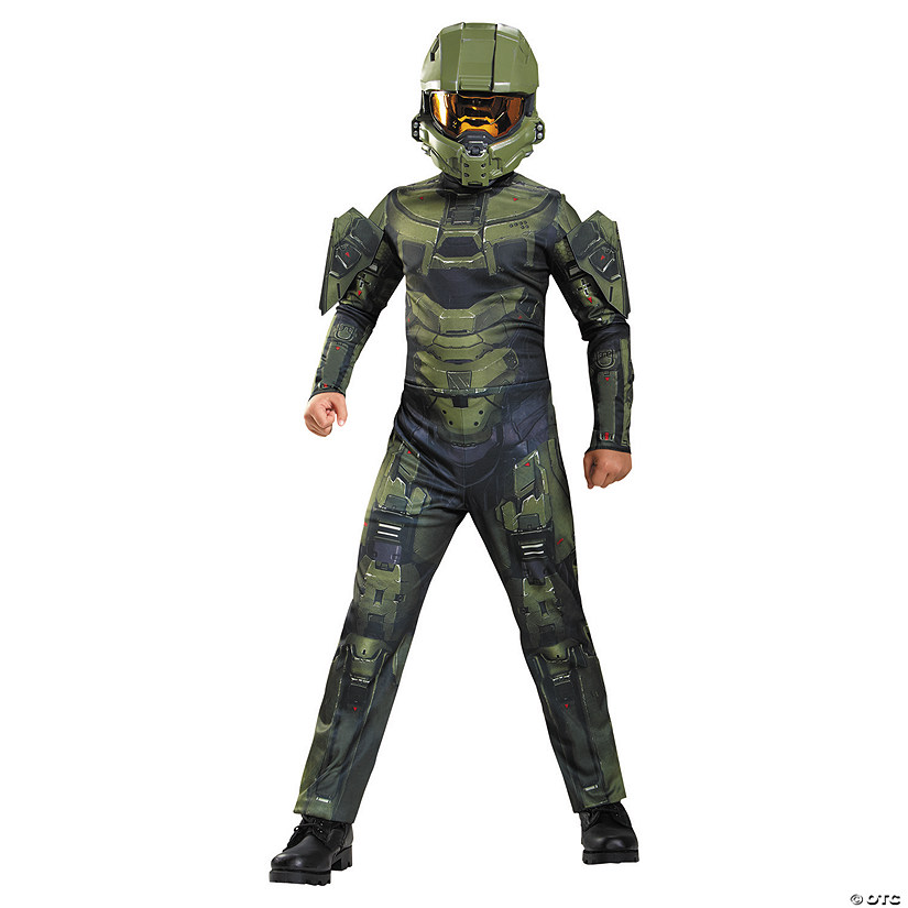 Boy's Classic Master Chief Costume Audio Thumbnail