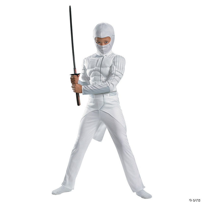 Boy's Classic Muscle Storm Shadow Costume Audio Thumbnail