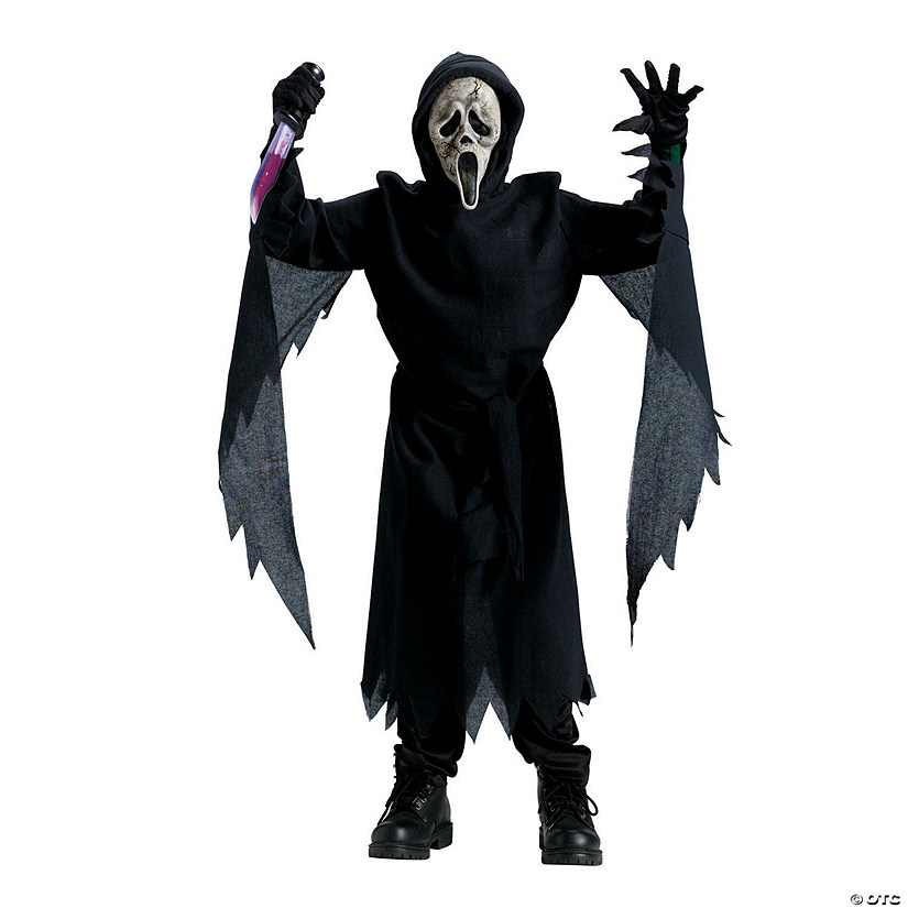 Boy's Collector Edition Ghostface™ Zombie Costume