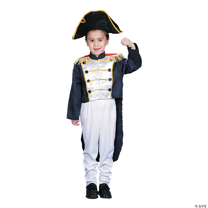 Boy's Colonial General Costume Audio Thumbnail