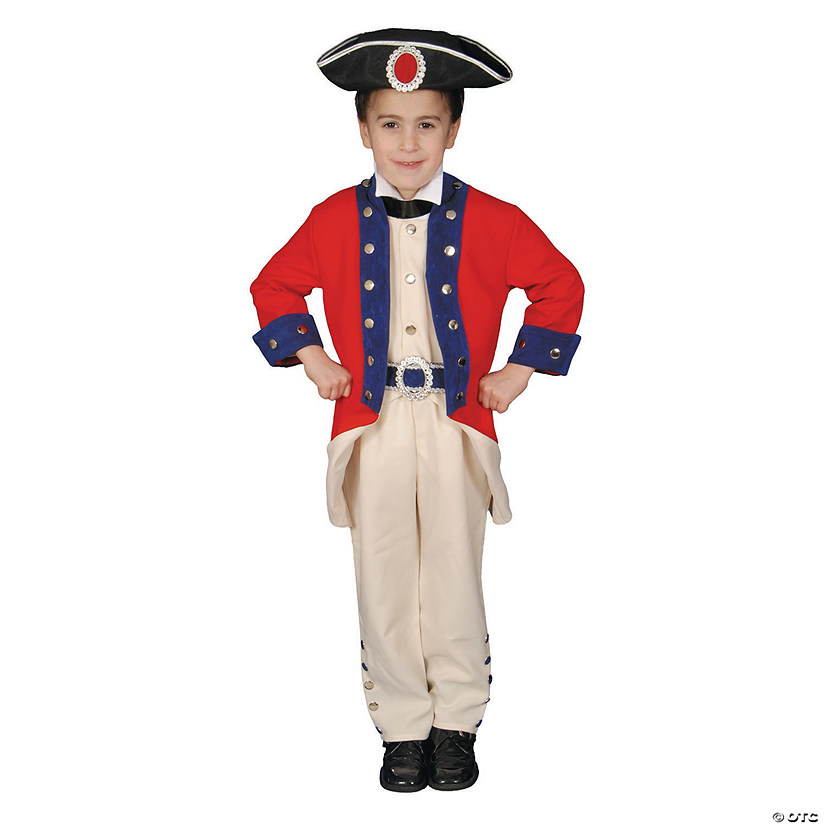 Boy's Colonial Soldier Costume Audio Thumbnail