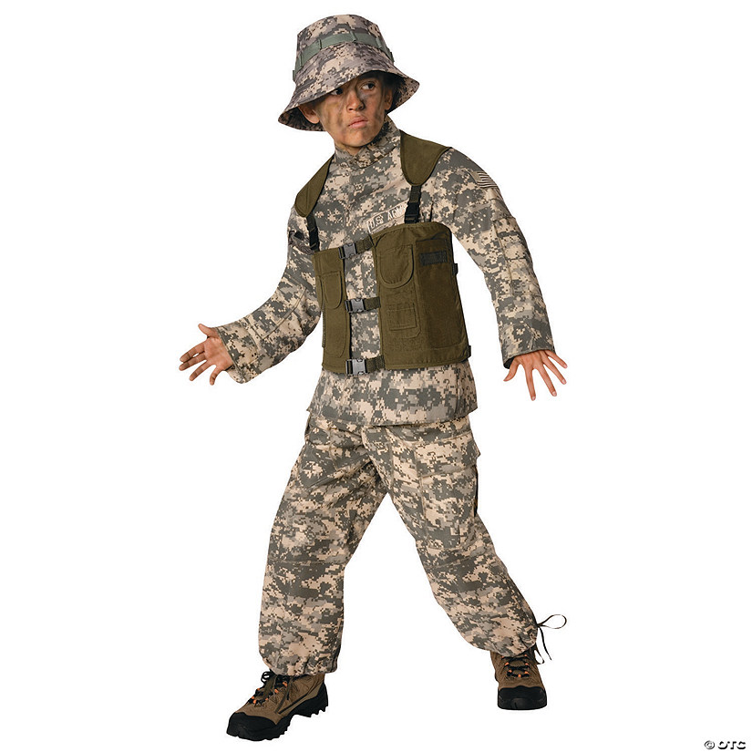 Boy's Delta Force Costume Audio Thumbnail
