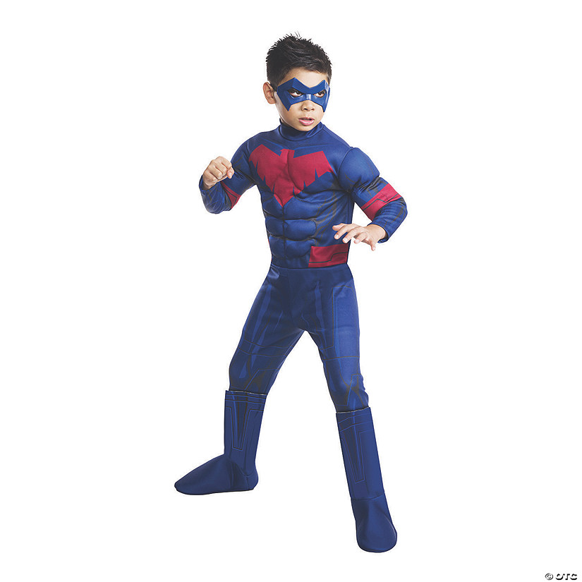 Boy's Deluxe Batman Unlimited Nightwing Costume