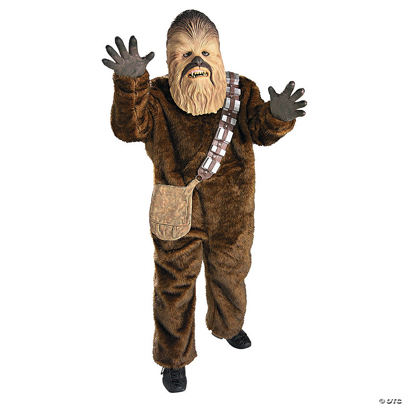 Boy's Deluxe Chewbacca Costume