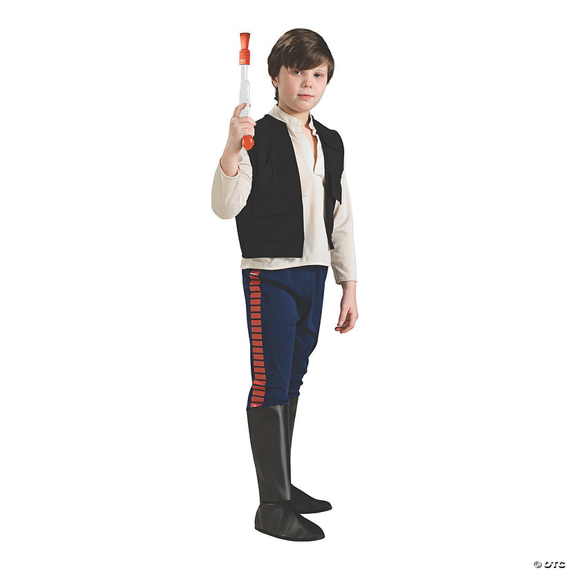 Boy's Deluxe Han Solo Costume Audio Thumbnail