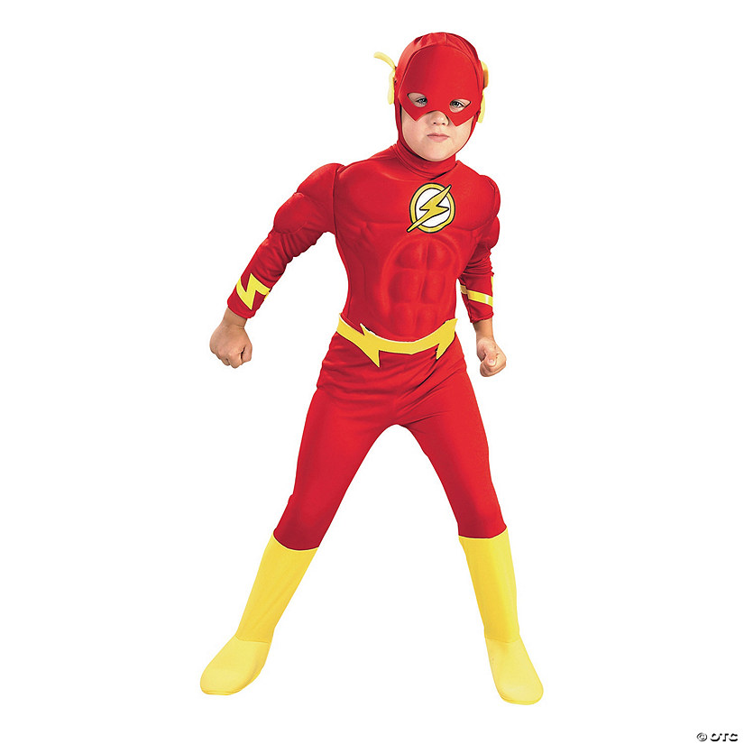 Boy's Deluxe Justice League Flash Costume