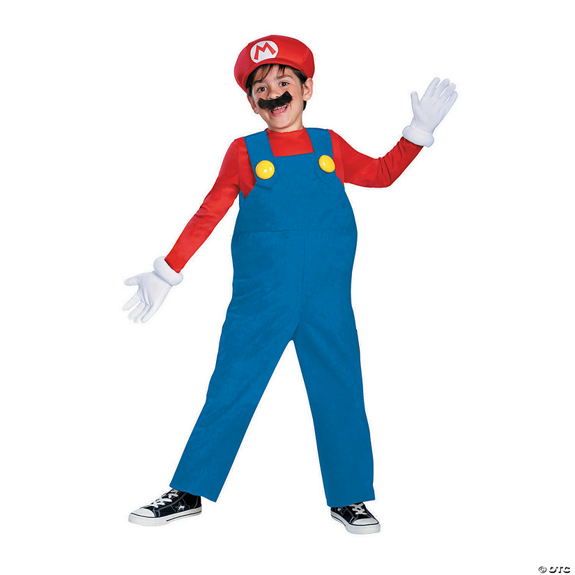 Boy's Deluxe Mario Costume Audio Thumbnail