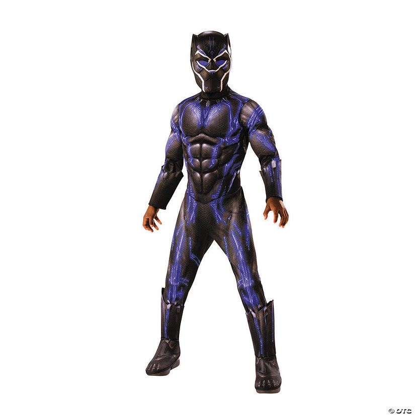 Boy's Deluxe Marvel Black Panther™ Battle Costume Audio Thumbnail
