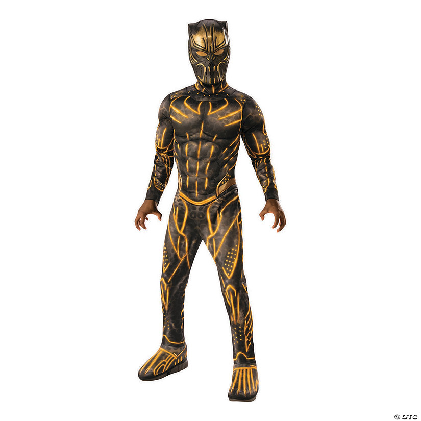 Boy's Deluxe Marvel Black Panther™ Killmonger Battle Costume Audio Thumbnail