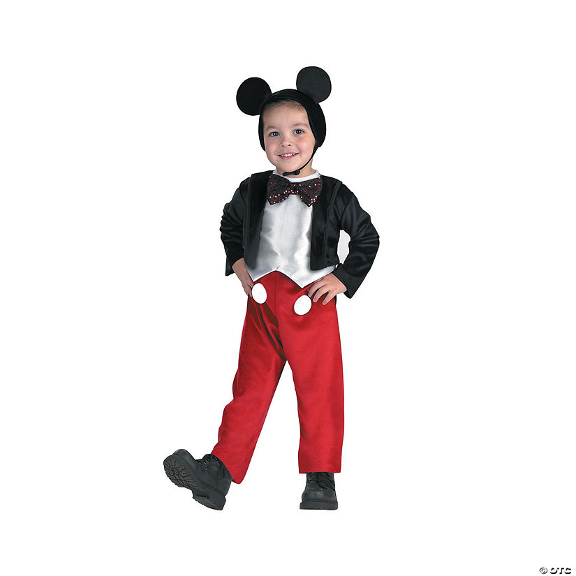Boy's Deluxe Mickey Mouse Costume Audio Thumbnail