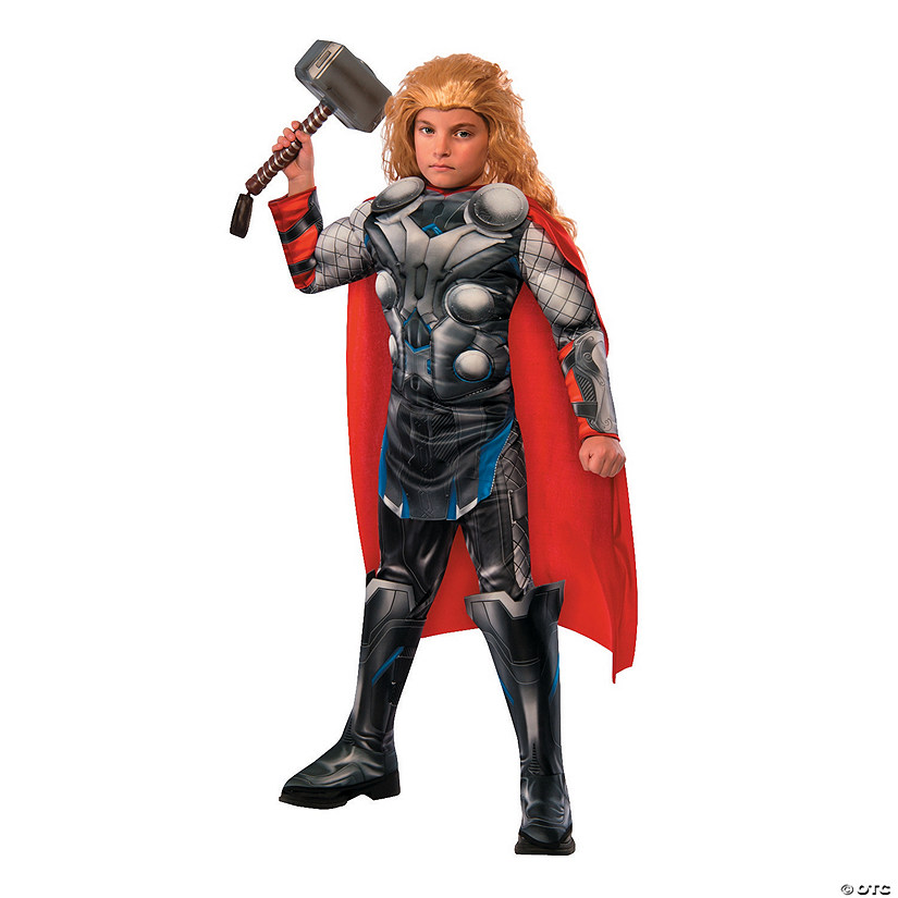 Boy's Deluxe Muscle Avengers 2: Age of Ultron™ Thor Costume Audio Thumbnail