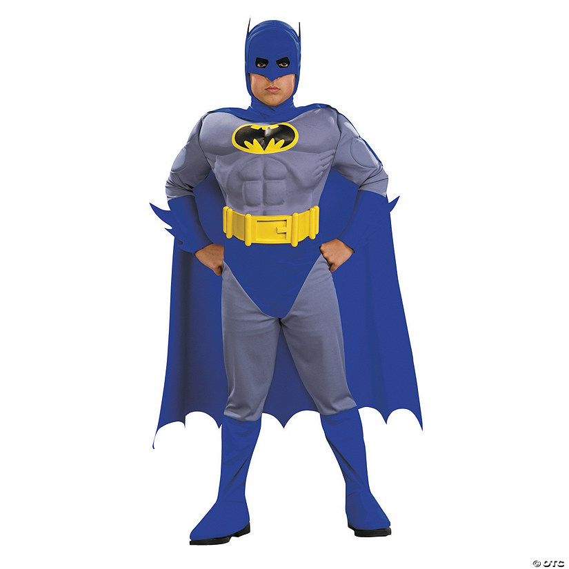 Boy's Deluxe Muscle Batman™ Costume