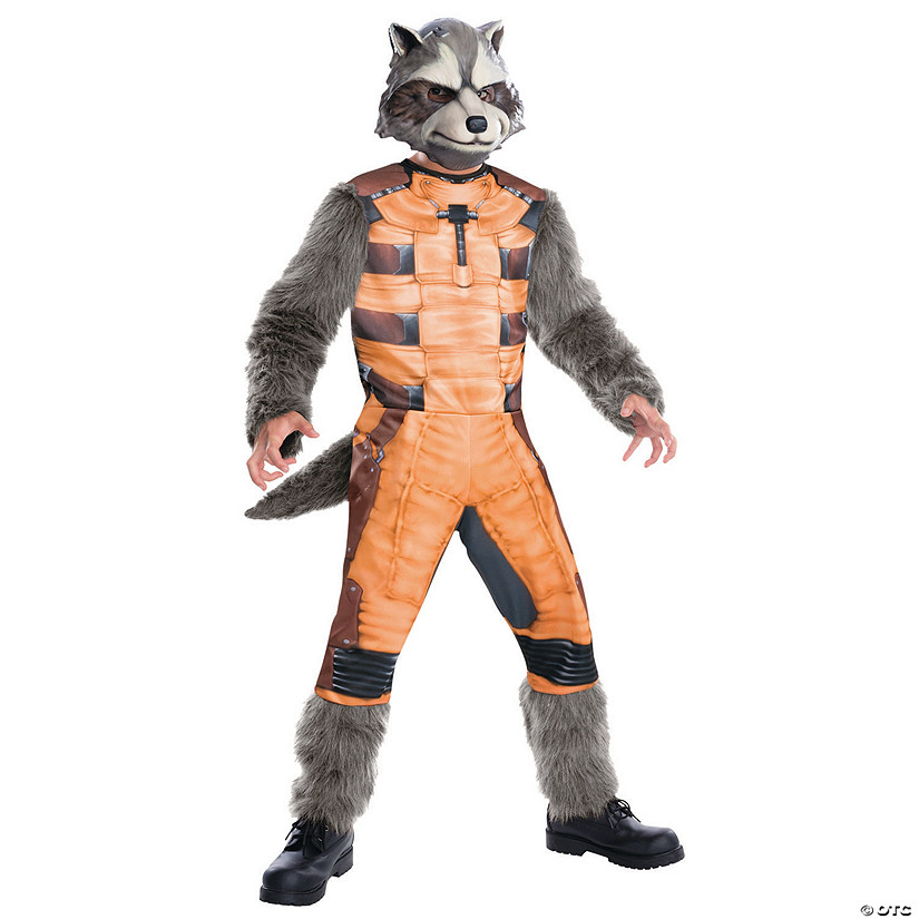 Boy's Deluxe Rocket Raccoon Costume
