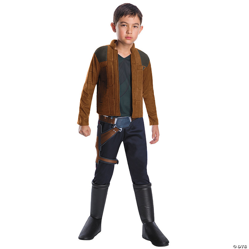 Boy's Deluxe Solo: A Star Wars™ Story Han Solo Costume Audio Thumbnail