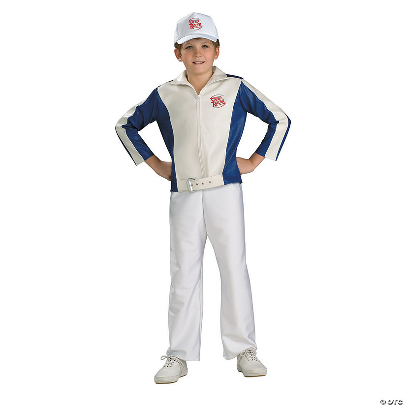 Boy's Deluxe Speed Racer Costume