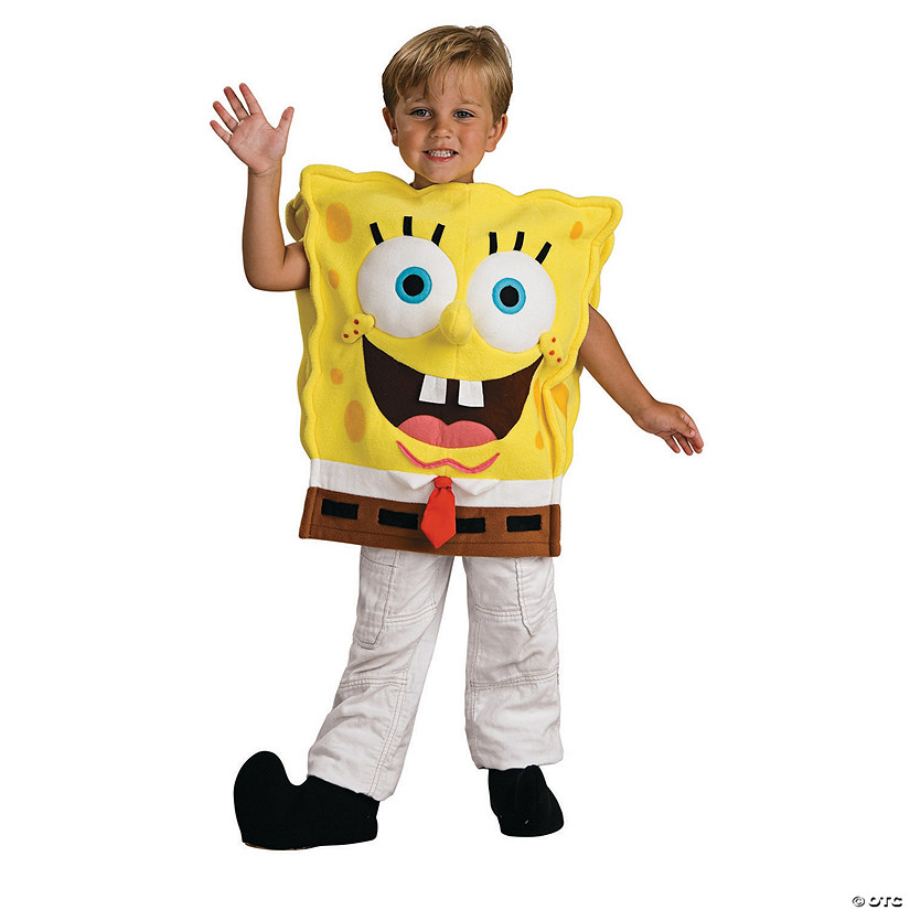 Boy's Deluxe Spongebob Squarepants Costume