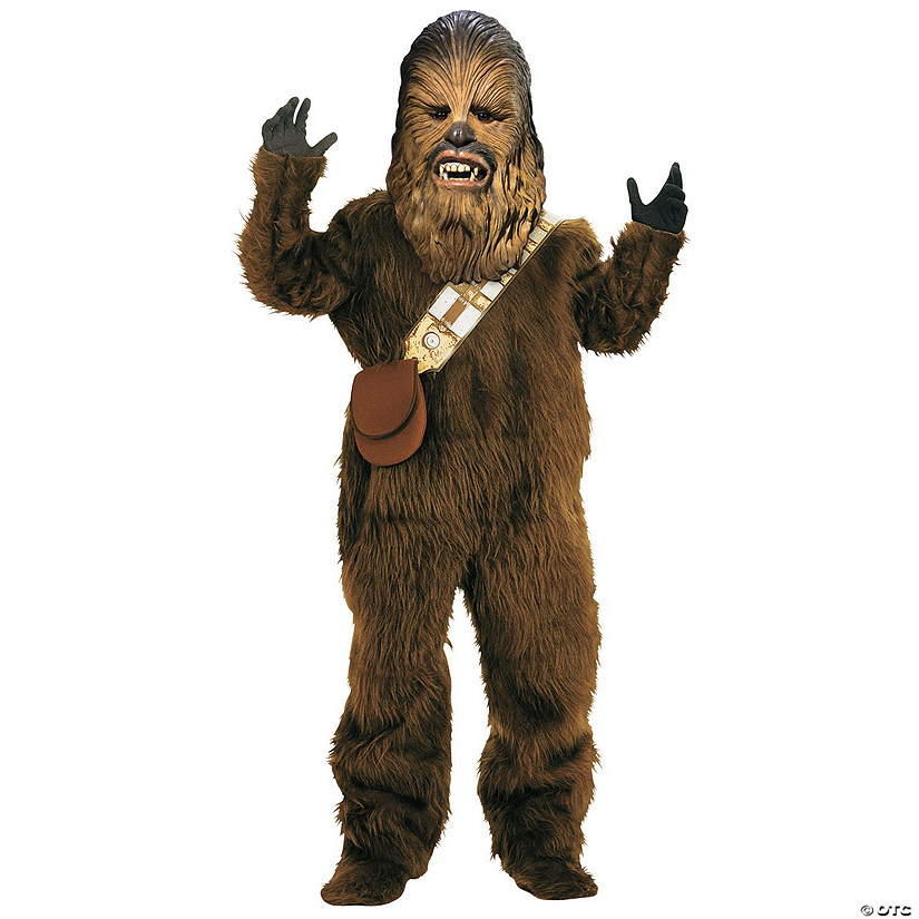 Boy's Deluxe Star Wars™ Chewbacca Costume Audio Thumbnail