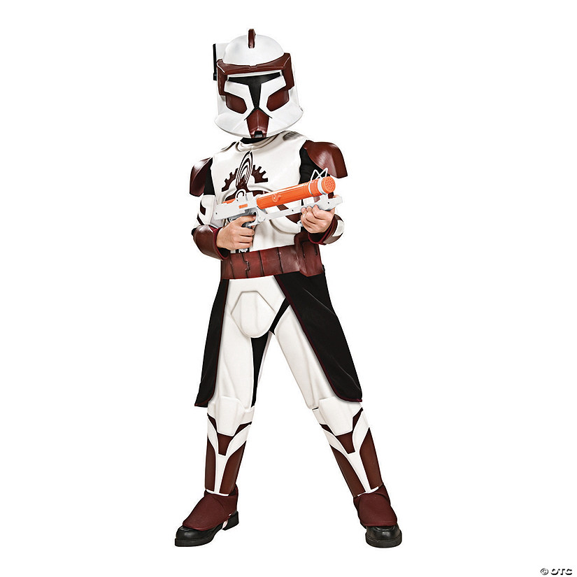 Boy's Deluxe Star Wars Clone Wars Commander Fox Costume Audio Thumbnail