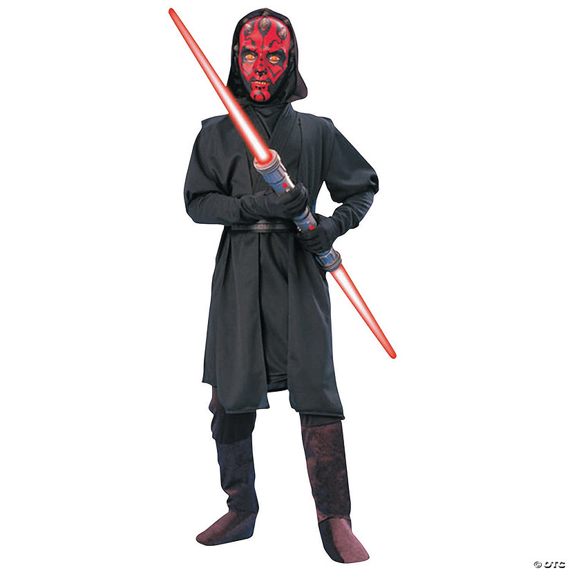 Boy's Deluxe Star Wars™ Darth Maul Costume Audio Thumbnail
