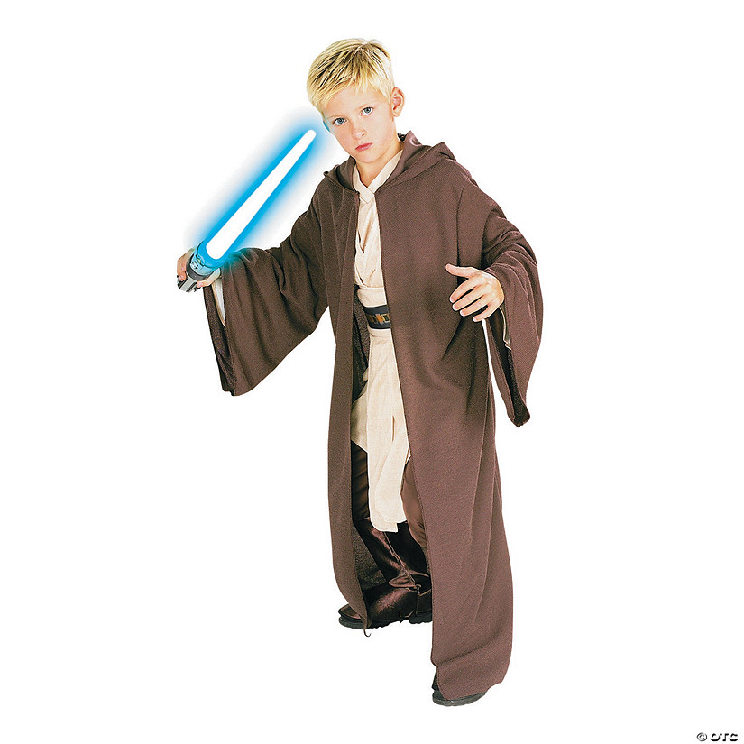 Medium /& Lightsaber Costume Halloween Star Wars Adult Hooded Sith Robe