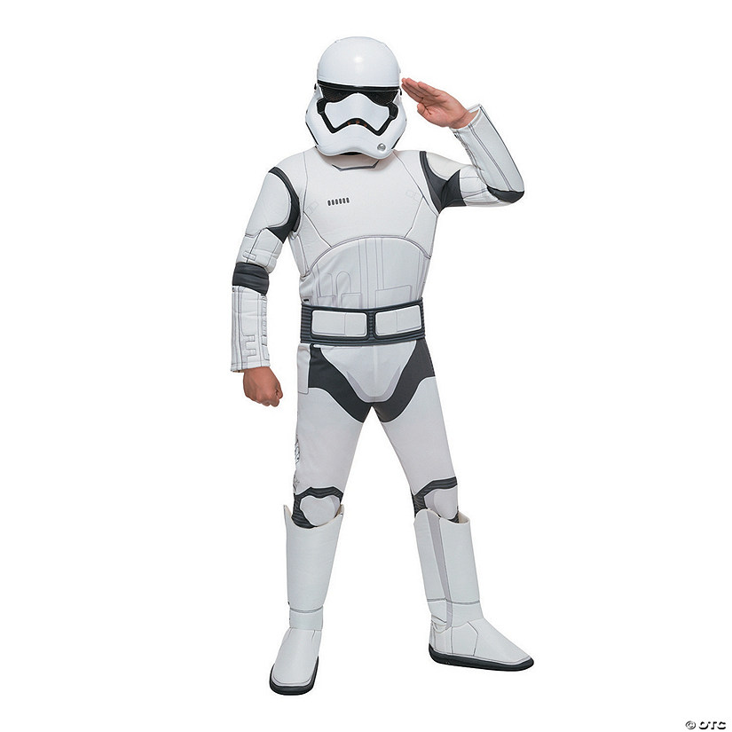Boy's Deluxe Star Wars: The Force Awakens™ Stormtrooper Costume