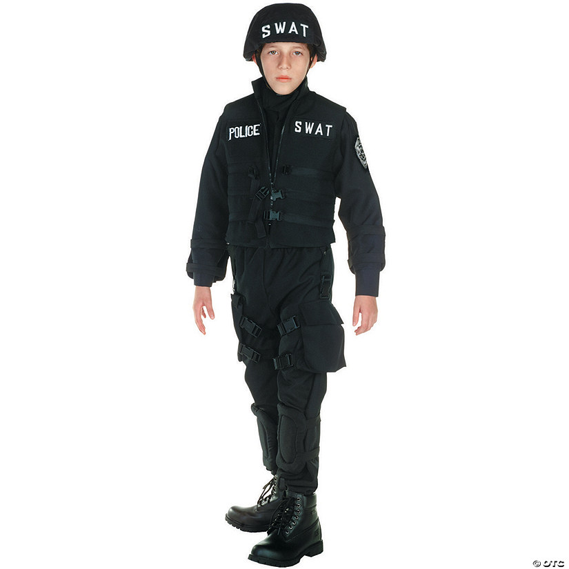 Boy's Deluxe SWAT Costume