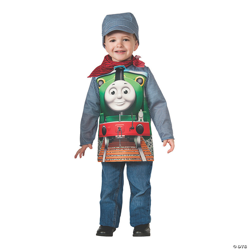 Boy's Deluxe Thomas & Friends Percy Costume Audio Thumbnail