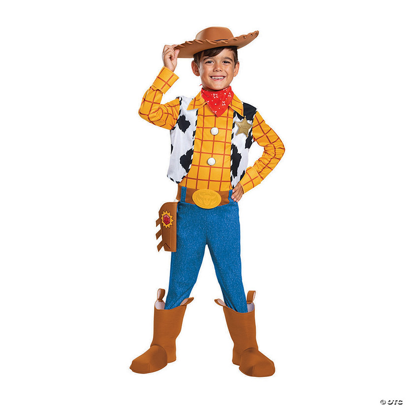 Boy's Deluxe Toy Story 4™ Woody Costume Audio Thumbnail
