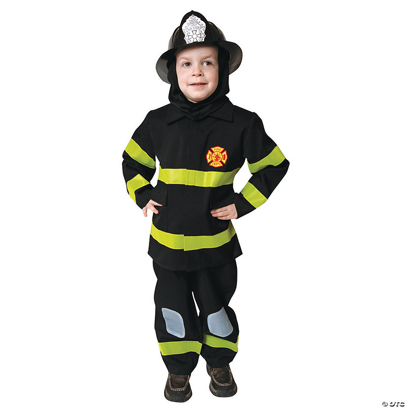 Boy's Fire Fighter Costume Audio Thumbnail