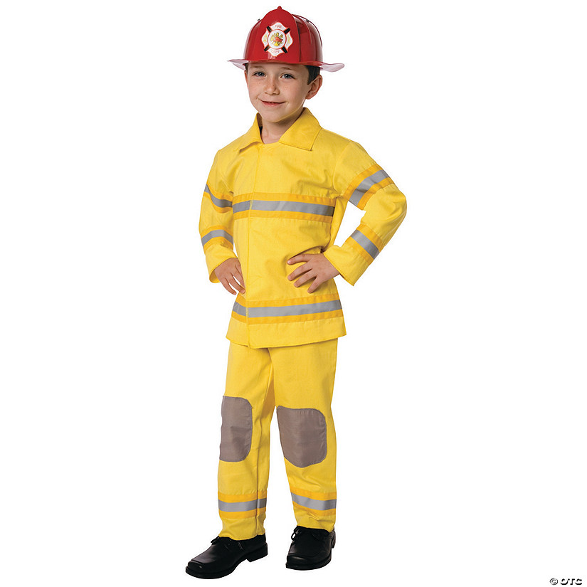 Boy's Fire Fighter Fireman Costume Audio Thumbnail