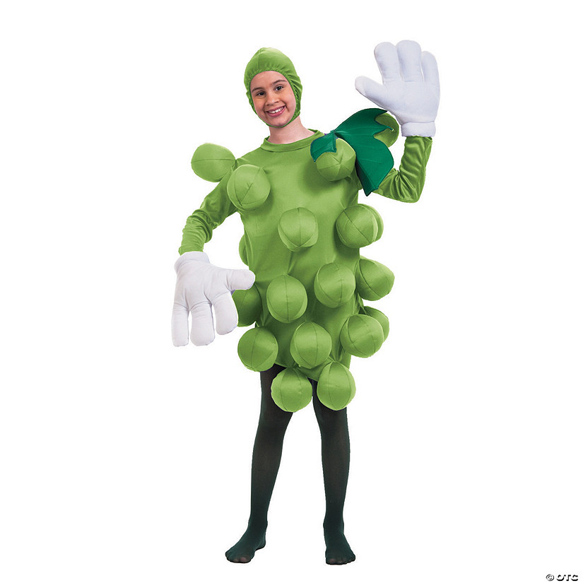 Boy's Green Grapes Costume