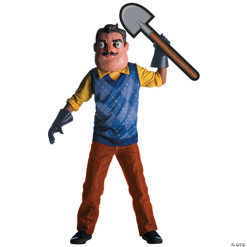 Boy's Hello Neighbor™ The Neighbor Costume - Large Audio Thumbnail