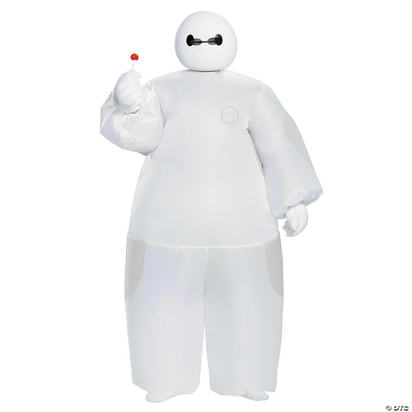 Boy's Inflatable White Baymax Costume