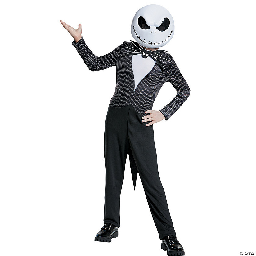 Boy's Jack Skellington Costume Image Thumbnail