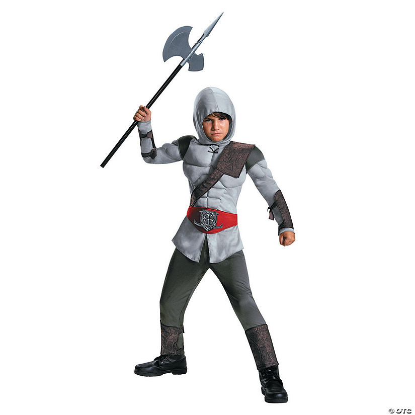 Boy's Muscle Assassin Costume