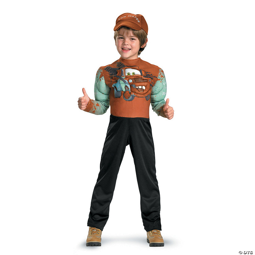 Boy's Muscle Tow Mater Costume