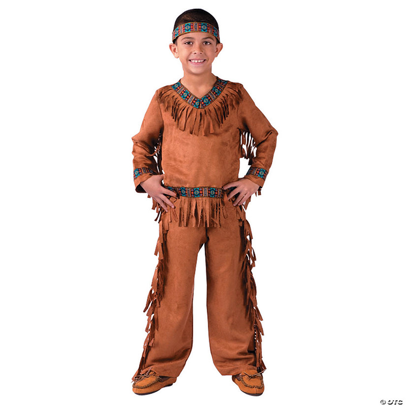 Boy's Native American Costume Audio Thumbnail