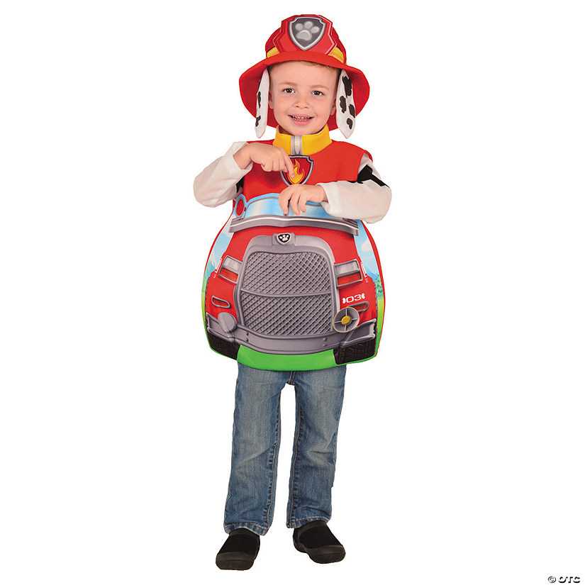 Boy's Paw Patrol Marshall Candy Catcher Costume Audio Thumbnail
