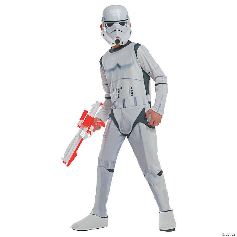 Boy's Photo Real Star Wars Stormtrooper Costume Audio Thumbnail