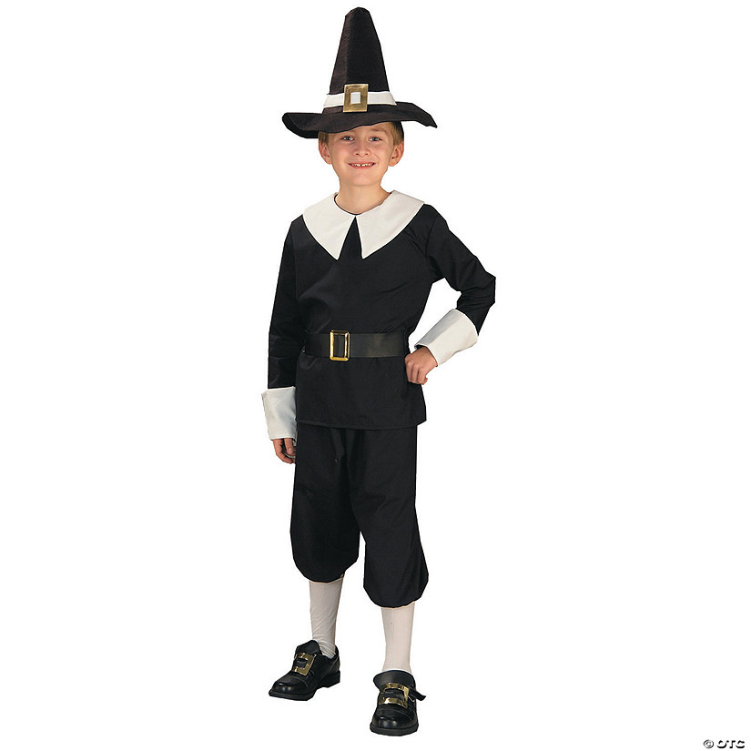 Boy's Pilgrim Costume Audio Thumbnail
