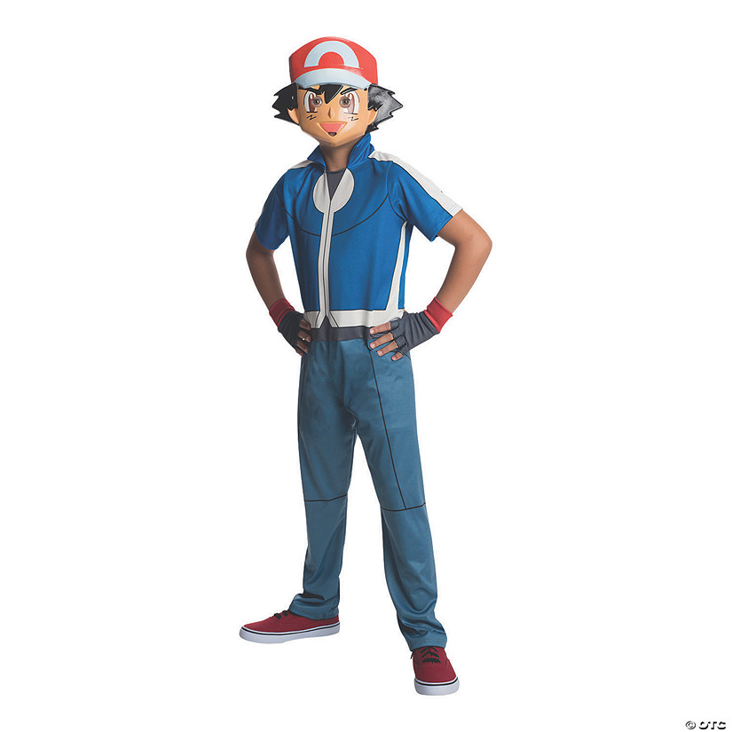 Boy's Pokemon Ash Ketchum Costume