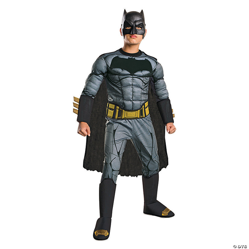 Boy's Premium Muscle Chest Batman Costume