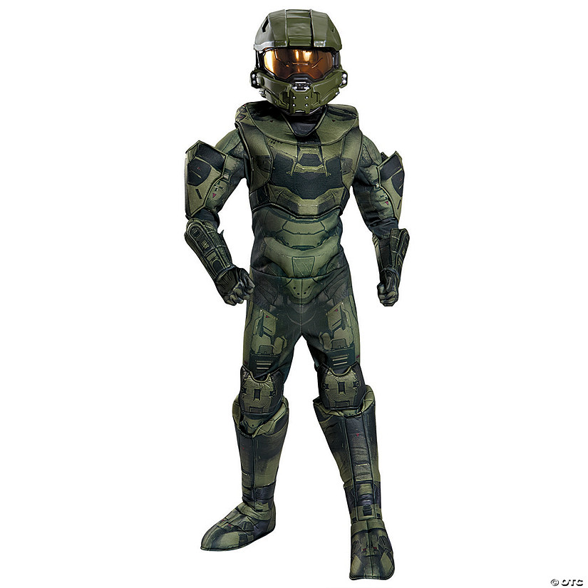Boy's Prestige Halo Master Chief Costume Audio Thumbnail