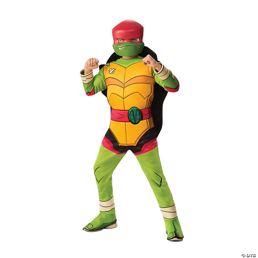 Boy's Rise of the Teenage Mutant Ninja Turtles™ Deluxe Leonardo Costume Audio Thumbnail